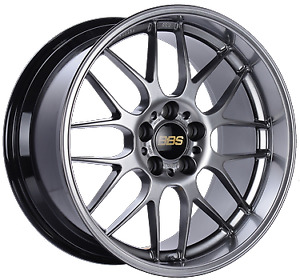 Bbs Rg r 18x10 5x120 Et25 Diamond Black Wheel 82mm Pfs