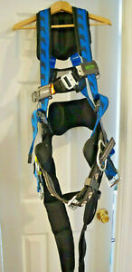 Miller Aircore Harness Blue 2 3xl With Miller Condor Lanyard Fall Limiter