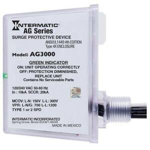 Intermatic Ag3000 120 240vac Universal Hvac Surge Protective Device New In Box