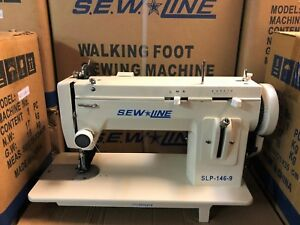 Sewline New Slp 146 9 Portable 9 Inch Bed Walking Foot Zig Zag Sewing Machine