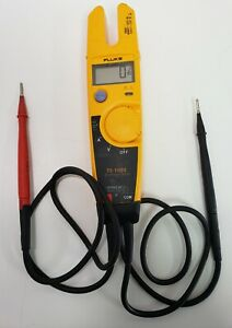 Fluke T5 1000 1000 Voltage Continuity Current Electrical Tester Meter