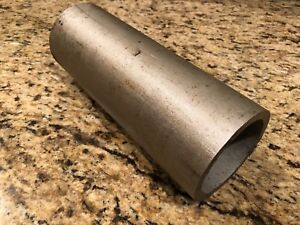 316l Stainless Steel Round Stock Tube 3 1 2 Od X 2 7 8 Id X 9 1 8 Long