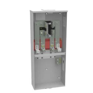 400 Amp 4 Terminal Ring type Link Bypass Overhead Meter Socket