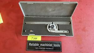 Japan Made Mitutoyo Vernier Protractor 187 906 Machinist Tools T144
