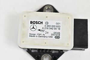 06 11 Mercedes W219 Cls350 Cls500 Yaw Turn Rate Acceleration Sensor 2165420018