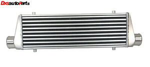 Emusa Universal Intercooler 27x7x2 5 2 5 I O New Tube And Fin