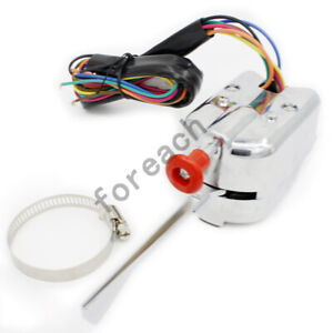 Universal Chrome 12v Street Hot Rod Turn Signal Switch For Ford Buick Gm