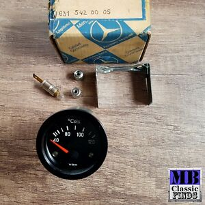 Mercedes Benz Vintage Thermometer Temperature Gauge Vdo 310 274 1 42 12v