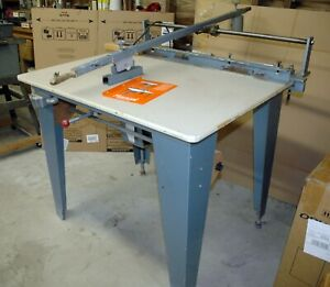 Silk Screen Table With 36 X 45 Inch Vacuum Tabletop Print Arm