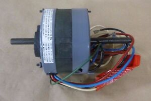 Universal 522 Shaded Pole Double Shaft Fan Motor 1 6hp 3 speed 1ph 115v 1050rpm