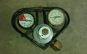 Used Gas Gauge Pressure Gauge For Kegerator Beer Tap System