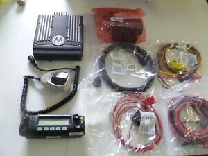 Motorola Xtl2500 800 Mhz P25 Remote Head Two Way Radio M21urm9pw1an With Extra