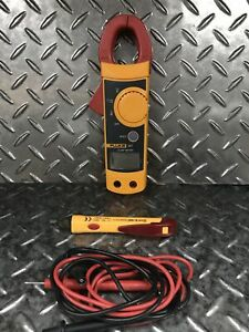 Fluke 321 Meter Carrying Case And Test Leads Free Shipping