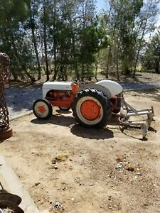 Ford 9n Tractor With Four Implements Included