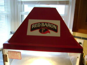 Wisco 680 1 Commercial Pizza Display Food Warmer Red Baron Tested Working