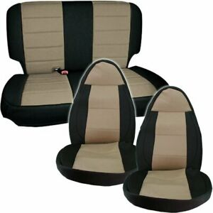 Open Box Smittybilt Set Seat Covers Front Jeep Wrangler Tj Canada 1997 02