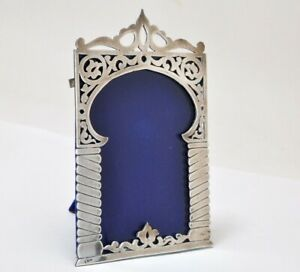 Sterling Silver 900 Picture Frame Hallmark Middle Eastern Egypt