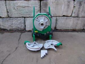 Greenlee 555 Electric Pipe Bender 1 2 To 2 Inch Emt Great Shape