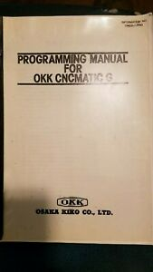 Okk Cnc Mitsubishi Programming Manual For Cncmatic G