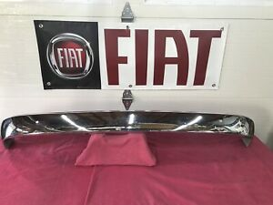 Fiat 124 Sport Coupe Chrome Rear Bumper 73 74 Nos
