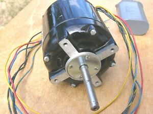Bodine Hysteresis Synchronous Motor 900 1800 Rpm 115vac Nch 12 Nos 4uf Capacitor