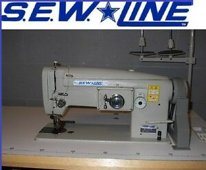 Sew Line Sl 1146 All new unit Walking Foot Zig zag Industrial Sewing Machine