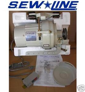 Sew Line New Hd 3450 Rpm 110 Volt Clutch Motor For Industrial Sewing Machine