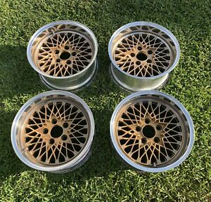 Ssr Formula Star Mesh Wheels 15x7 7et 5x114 3 Speed Star Racing Bbs Rare Jdm