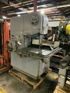 Doall mp 20 20 Vertical Band Saw