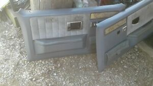 1981 87 Chevy Truck Parts Door Panels Suburban Original Oem Vintage