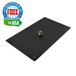Siig Artificial Leather Smooth Desk Mat Blotter Protecter 36 X 22 Pad