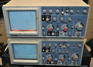 Heath Model 4554 Oscilloscope 40 Mhz Good School Surplus