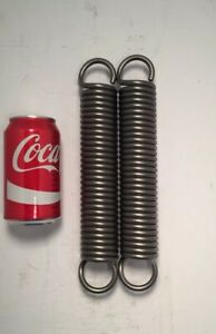 262 Wire Heavy Duty Extension Spring Lot Of 2