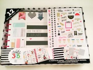 Me My Big Ideas Box 98 Create 365 The Happy Planner Box Kit 12 Month Undated