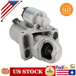 New Starter For Chevrolet Gmc Isuzu Oldsmobile Truck Blazer V6 4 3l 99 04 6485