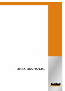 Case Ce 851 Ex Tractor Loader Operator s Manual