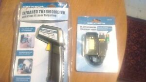 New Cen tech Infrared Thermometer 30 Amp Auto Fuse Circuit Tester