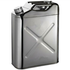 Tgt4x4 304 Stainless Steel Jerry Can 8 Gallon Water Can 30 L Portable