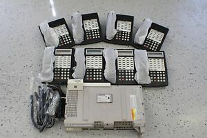 Avaya Lucent Partner Acs Business Phone System 8 Phones Refurbished