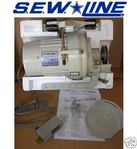 Sew Line New 1725 Rpm 110 Volt Clutch Motor For Industrial Sewing Machine