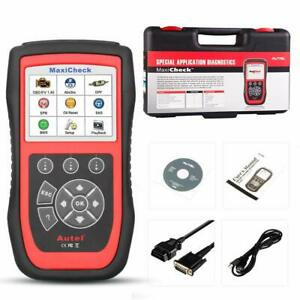 Autel Maxicheck Pro Obd2 Scanner Diagnostic Code Reader Scan Tool With Oil new