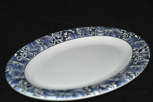 12 Pc New Melamine Lcp02090 L 9 Oval Dinner Plate 9 X6 3 8 Lotus Pattern