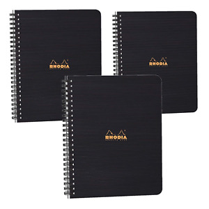 Rhodia Rhodiactive Meeting Paper Book 90g Paper Lined 80 Sheets 6 1 2 X 8