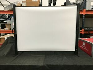 da lite 30x40 Fold Portable Projector Presenter Presentation Screen 50 Diag