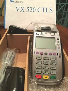 elavon And or Costco Merchants Only Verifone Vx520 Ctls Mint Condition