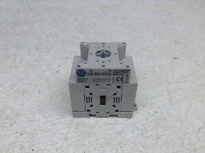 Allen Bradley 194e e63 1753 Load Switch 63 Amp On Off 90 Degree 194ee631753