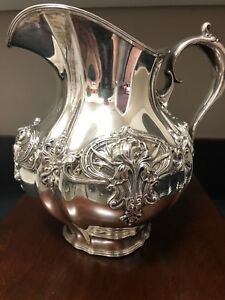 Whiting Sterling Water Pitcher Awesome