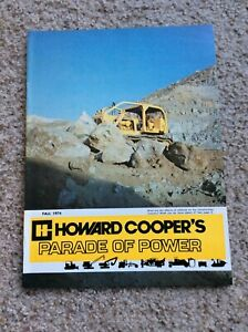 Fall 1974 Howard Coopers Parade Of Power Construction Magazine