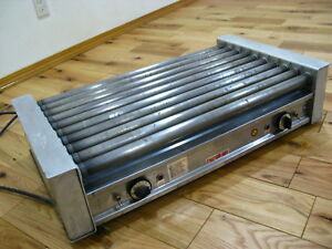 J j Connolly Roll a grill C 270 Hot Dog Warmer Roller Grill Machine