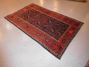 Antique Persian Bijar Carpet Wonderful Rare Estate 7 X 4 10 Kurdish Rug